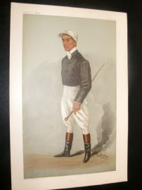 Vanity Fair Print 1901 Fred Rickaby, Jockey